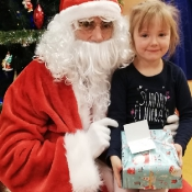 Upragnione spotkanie z Mikołajem