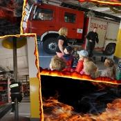 Wycieczka do straży pożarnej