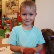 Zabawy Biedronek z piaskiem i gliną_19