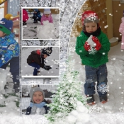 Zima lubi dzieci :)
