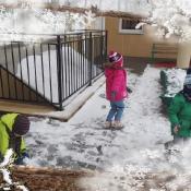 Zimowe filge Smoków