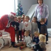 Mikołaj- niezwykły gość w przedszkolu!