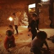 Misie i Zajączki w grocie solnej