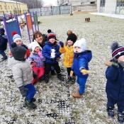 Misiowe śnieżne zabawy:)