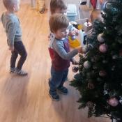 Świąteczna choinka zawitała do Skrzatów