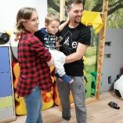 Zajączki i Misie bawią się z Rodzicami:)