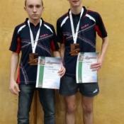 3 miejsce w tenisa Filip Pawelec i Piotrek Krzak_1