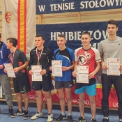 4 miejsce Filipa Pawelca w Mistrzostwach Województwa w Tenisie Stołowym