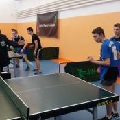 5 miejsce Sobieskiego w Lublinie w Licealiadzie drużynowej w tenisa stołowego