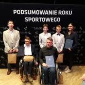 Franek Sawa na podsumowaniu roku sportowego 2017