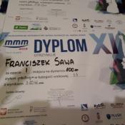 Franek Sawa ponownie na podium