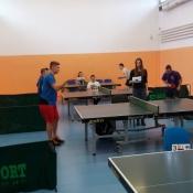 I miejsce Filipa Pawelca w Licealiadzie miasta Lublin w tenisa stołowego