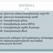 Klasy biologiczno-chemiczne na spotkaniu o transplantologii