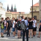 Klasy drugie gimnazjum na wycieczce w Sudetach