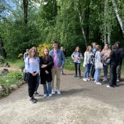 Klasy drugie w Ogrodzie Saskim i w Ogrodzie Botanicznym
