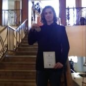 Kuba Marcowski nagrodzony