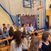 Ślubowanie uczniów klas pierwszych i Dzień Nauczyciela (2019)_9
