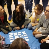 Młodzież z Sobieskiego dzieciom z Chrobrego – warsztaty z języka niemieckiego_16