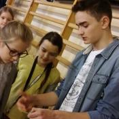 Młodzież z Sobieskiego dzieciom z Chrobrego – warsztaty z języka niemieckiego_18