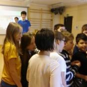 Młodzież z Sobieskiego dzieciom z Chrobrego – warsztaty z języka niemieckiego_28