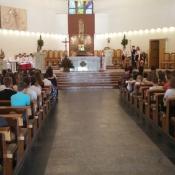 Msza św. z okazji zakończenia roku szkolnego _1