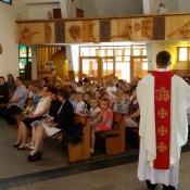 Msza św. z okazji zakończenia roku szkolnego