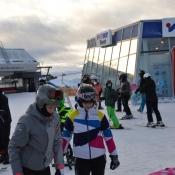Sobieski na nartach i snowboardzie w Austrii
