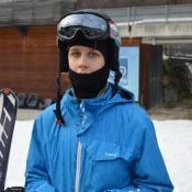 Sobieski we Włoszech na nartach