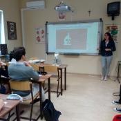 Spotkanie uczniów klas 1 z Klaudią Tylus _2