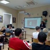 Spotkanie uczniów klas 1 z Klaudią Tylus _3