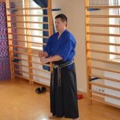 Spotkanie z Mistrzem Świata w karate tradycyjnym - Danielem Iwankiem