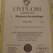 Uroczystość wręczenia nagród w konkursie matematycznym im. ks. Jakóbczyka._1