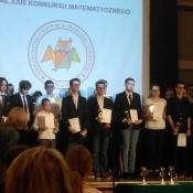 Uroczystość wręczenia nagród w konkursie matematycznym im. ks. Jakóbczyka._3