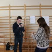 Warsztaty integracyjne przełamujące stereotypy myślenia o osobach niepełnosprawnych w klasach ILA i ILB