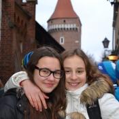 Wycieczka klas I gimnazjum do Krakowa