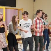Występ grupy teatralnej w DPS_2
