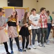 Występ grupy teatralnej w DPS_5